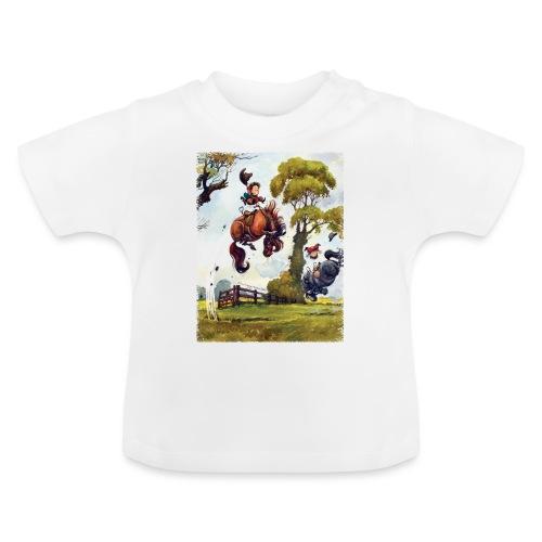 Thelwell Cartoon Pony Rodeo - Baby T-Shirt