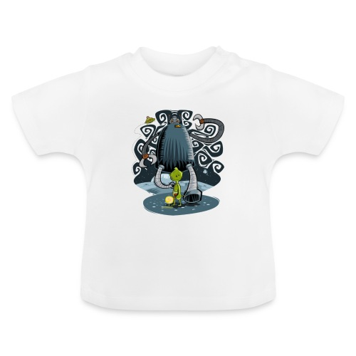 Robot bully - Baby T-Shirt
