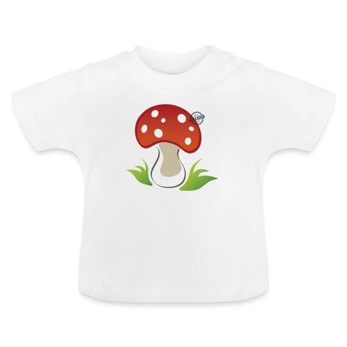 Mushroom - Symbols of Happiness - Baby T-Shirt