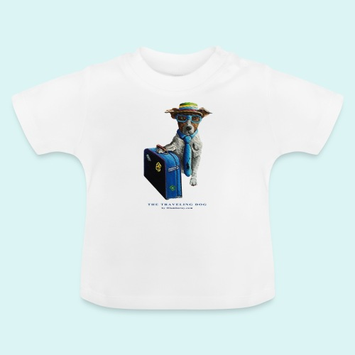 The Traveling Dog - Baby T-Shirt