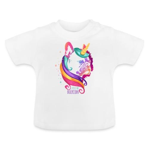 I love my Bullycorn - Französische Bulldogge - Baby T-Shirt