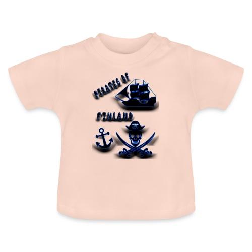 Pirates - Vauvan t-paita