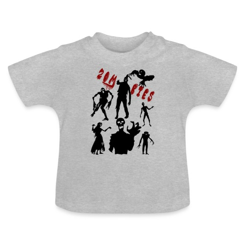 Zombies - Vauvan t-paita