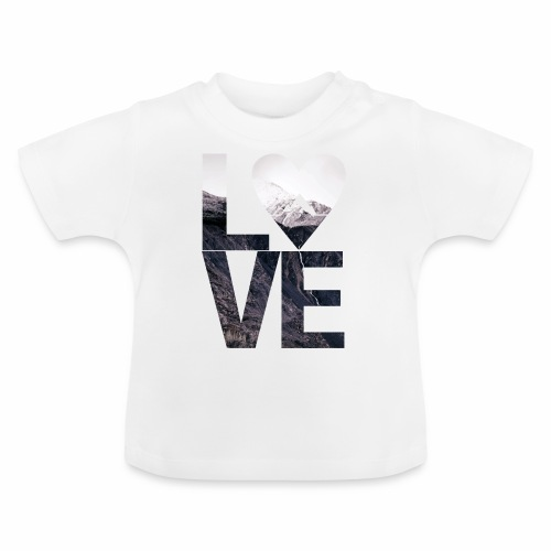 L.O.V.E - Mountains - Baby T-Shirt