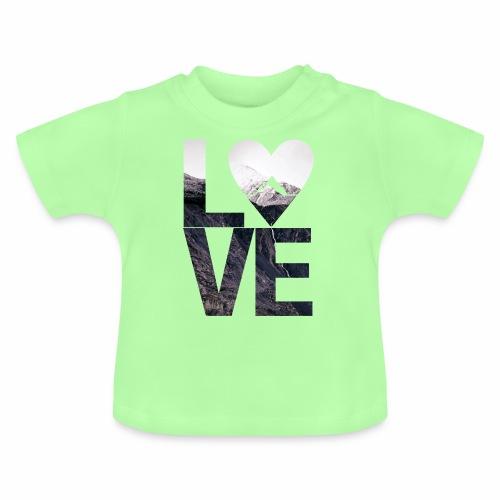 L.O.V.E - Mountains - Baby T-Shirt