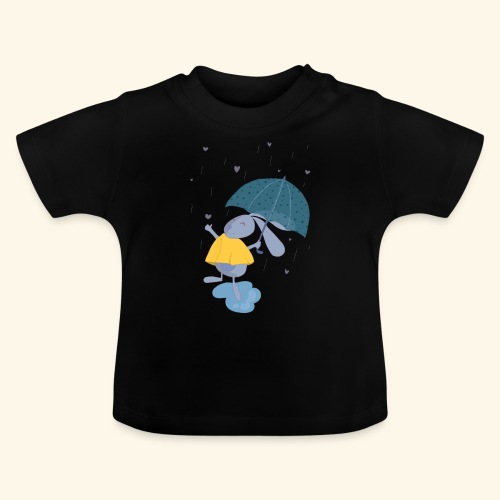 happy in the rain - Baby T-Shirt