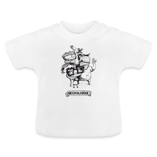 Illu Geeksleague - T-shirt Bébé