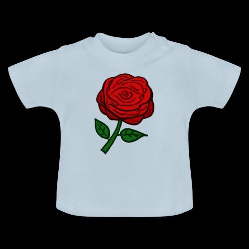 Rote Rose - Baby T-Shirt