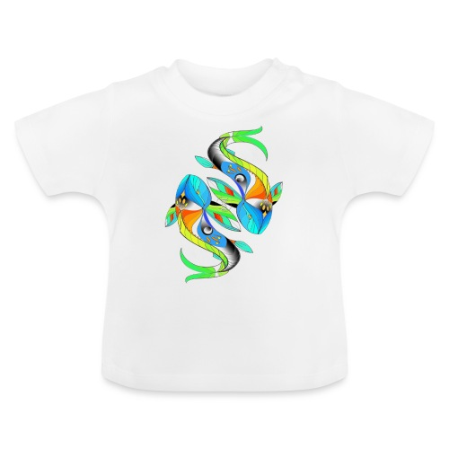 Regenbogenfische - Baby T-Shirt
