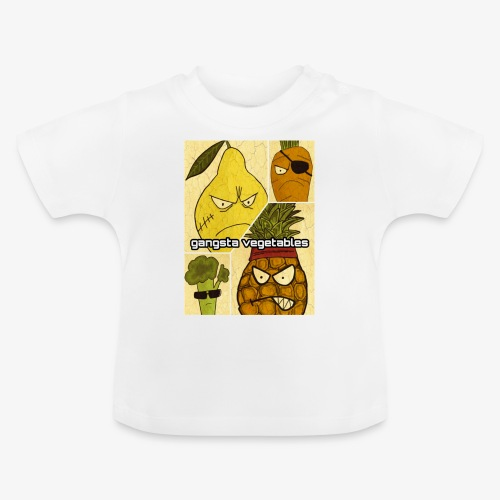 Gangsta Vegetables - T-shirt Bébé