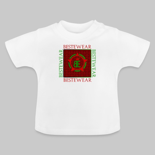 #Bestewear - Royal Line (Green/Red) - Baby T-Shirt