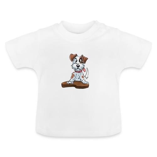 Jack Russell Terrier baby kleding. - Baby T-shirt
