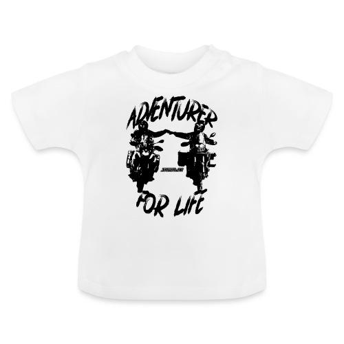 Adventurer For Life - black print - Baby T-shirt