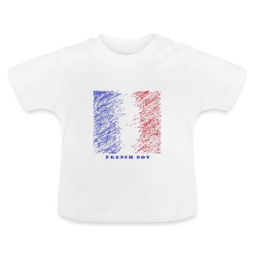 french - T-shirt Bébé
