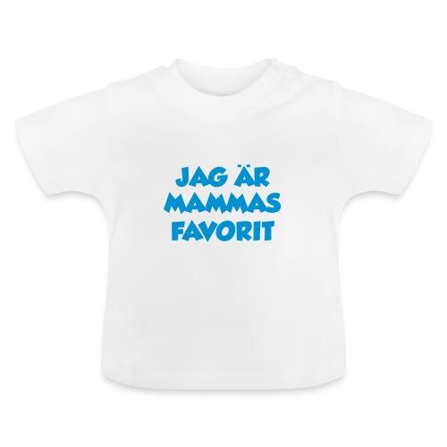 Jag är mammas favorit - Baby-T-shirt