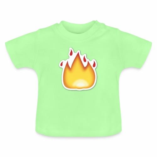 Liekkikuviollinen vaate - Vauvan t-paita