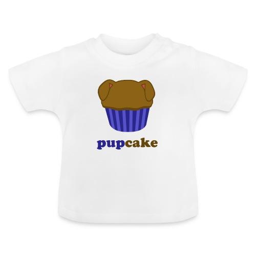 pupcake blauw - Baby T-shirt