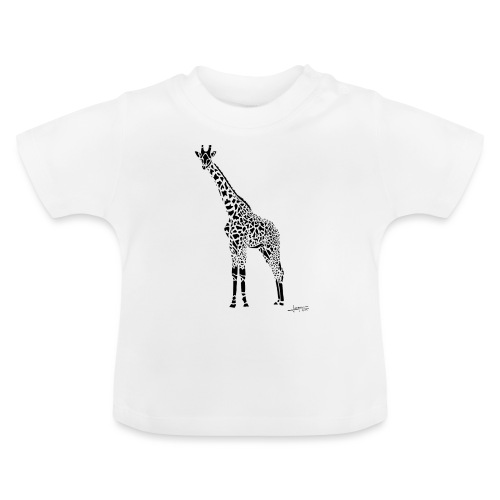 Black Girafe By Joaquín - T-shirt Bébé