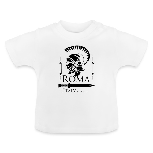 Legionario Romano con Elmetto - Maglietta per neonato