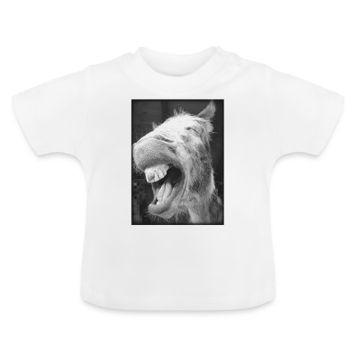 lachender Esel - Baby T-Shirt