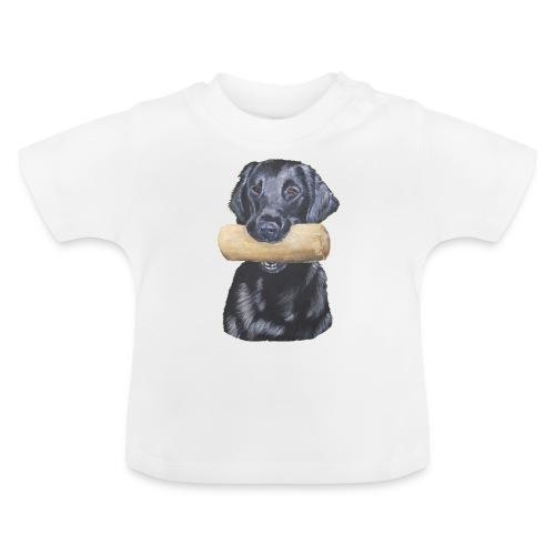 flatcoated retriever Dumbbell - Baby T-shirt