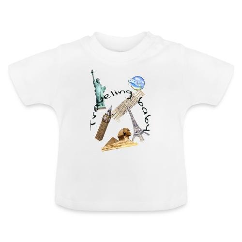 Traveling baby - Baby-T-shirt