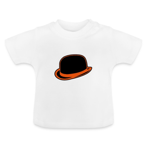 Horrorshow Orange Bowler Hat Melone Hut Clown Alex - Baby T-Shirt