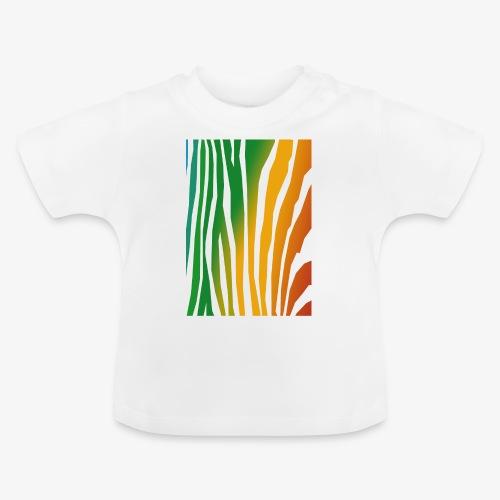 zebralong png - Baby-T-shirt