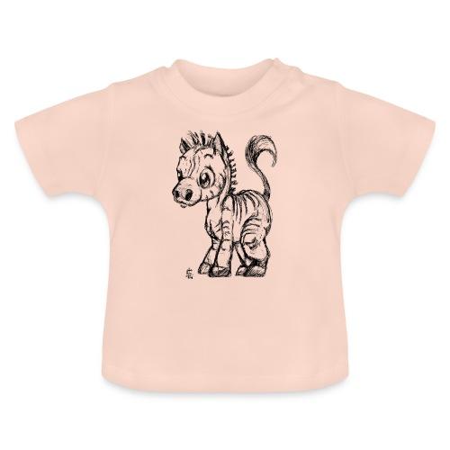 zebre - T-shirt Bébé