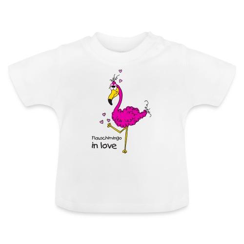 Flauschimingo in love - Baby T-Shirt