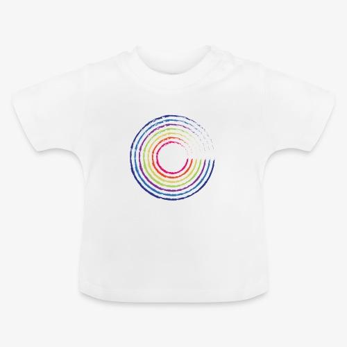 Circle rainbow - Maglietta per neonato