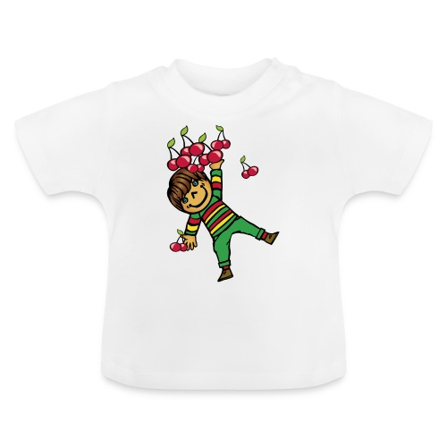 08 kinder kapuzenpullover hinten - Baby T-Shirt