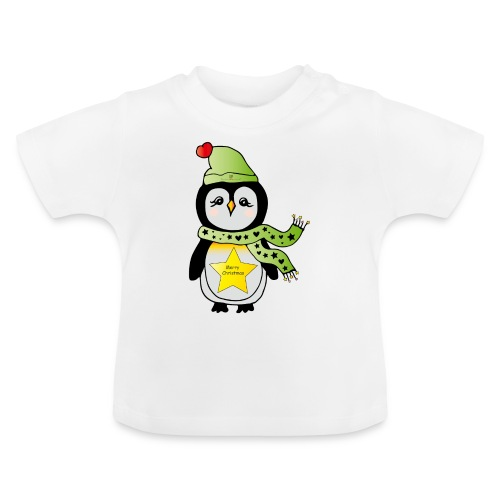Christmas Pinguin - Baby T-Shirt
