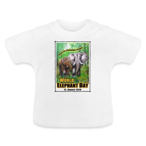 Welt-Elefanten-Tag 12. August 2019 - Baby T-Shirt