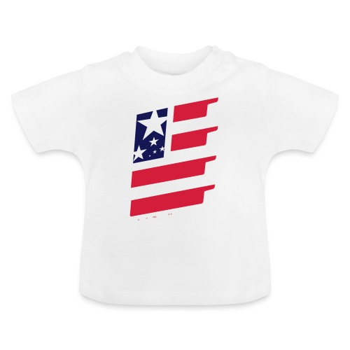 FlagUSA-URBAN - Camiseta bebé