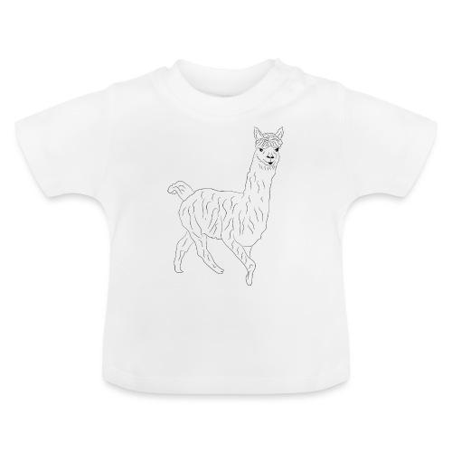 Alpaka Lama Shirt Geschenk - Baby T-Shirt