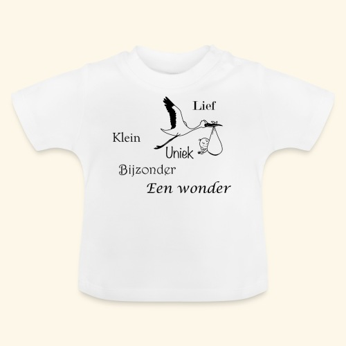 Baby T-shirt een wonder - Baby T-shirt