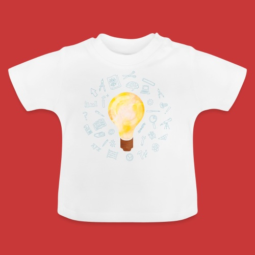 5 IDEEN Glühbirne 2018 - Baby T-Shirt
