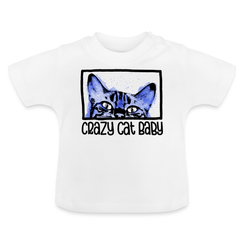 Crazy Cat Baby Boy - Baby T-Shirt