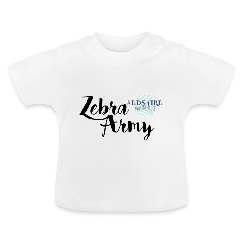 Zebra Army (black) - Baby T-Shirt