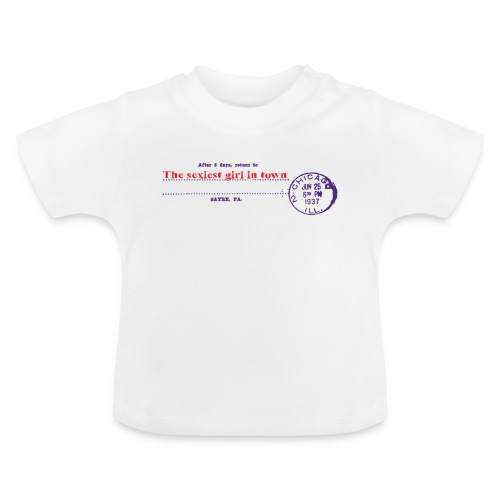 after 5 days return - Baby-T-shirt