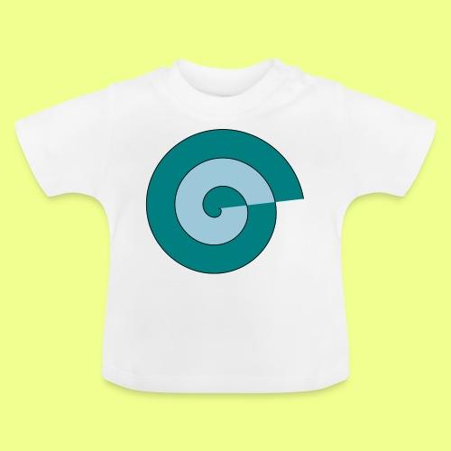 espiral color - Camiseta bebé