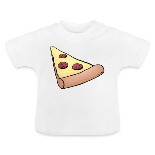 Pizzastück für Eltern-Baby-Partnerlook - Baby T-Shirt