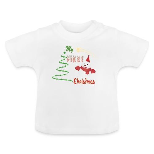 My first Christmas -mon permier Noël - T-shirt Bébé