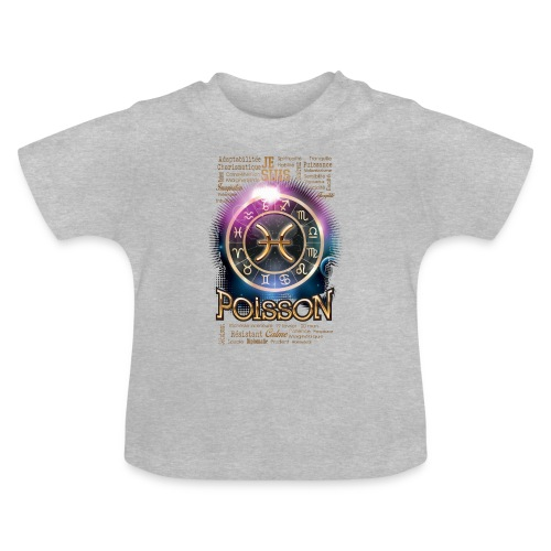 POISSONS - T-shirt Bébé