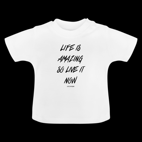 Life is amazing Samsung Case - Baby T-Shirt