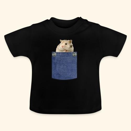 hamster in the poket - Maglietta per neonato