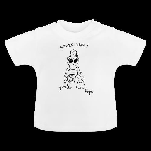 Pupy: summer time! - girl - Maglietta per neonato