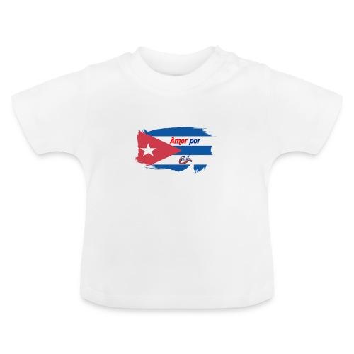 Amor Por Cuba - Maglietta per neonato