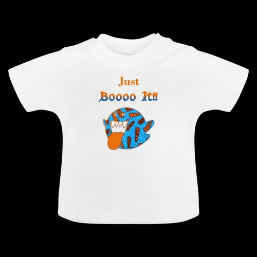 Just Boooo It : Orange Power !!! - T-shirt Bébé